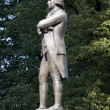 Sam Adams Statue in Boston — Stock Photo