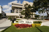 City Hall in West Palm Beach — Stock Photo