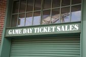 Game Day Ticket Sales — Photo