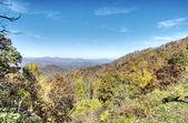 HDR of Blue Ridge Mountains — Stock Photo