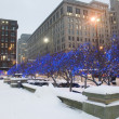 Downtown Cleveland Ohio During Winter. — Stock Photo
