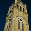 Tower of historic church — Stock Photo