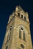 Turm der historischen kirche — Stockfoto