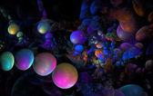 Coloful bubbles — Stock Photo