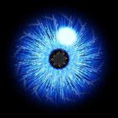 Digitale iris — Stockfoto