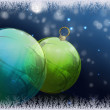 Chistmas balls — Stock Photo