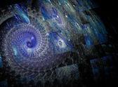 Renkli swirls — Stok fotoğraf