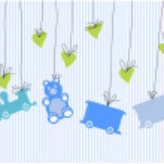 Baby Card — Stock Vector #7679823