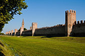 Montagnana - Italian walled city — Stock Photo