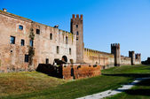 Montagnana - walled city — Stock Photo