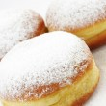 Tradition slovenian doughnuts — Stock Photo