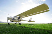 Ultra-light aircraft — Stock Photo