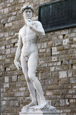 Michelangelo's David — Fotografia Stock