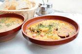 Arpa çorbası — Stok fotoğraf