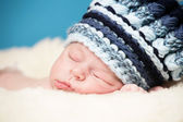 Adorable newborn — Stock Photo