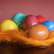 Foto de Stock  : Painted Easter Eggs