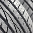 Royalty-Free Stock Photo: New car tire