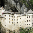 Stock Photo: PredjamCastle in Slovenia