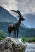 Capricorn statue — Stock Photo
