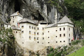 Predjama Castle in Slovenia — Stock Photo