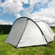 Tent in beautiful nature — Stock fotografie #7473290