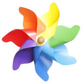 Pinwheel toy — Stockfoto