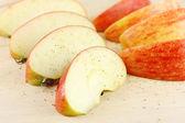 Apple slices — Stock Photo