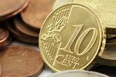10 Euro Cent — Stock Photo