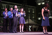"Swingle Singers at ""Trieste Loves Jazz 2009"" — Stock Photo"