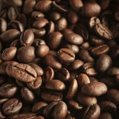 Close up of coffee beans — Zdjęcie stockowe