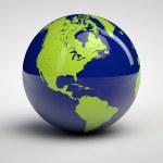 3d globe — Stock Photo #7105335