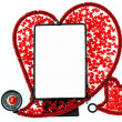 Royalty-Free Stock Photo: Frame Heart