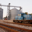 Stock Photo: Train Tracks Mill