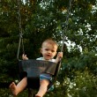 Baby Mid Swing — Stock Photo