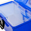 Makeup Case Blue Open — Stock Photo #7105419