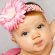 Baby With Flower — Stock Photo #7106562