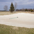 Golf Sand - Stock Photo