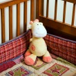 Crib Giraffe - Stock Photo