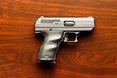 Handgun Table — Stock Photo