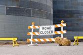 道路閉鎖 — ストック写真