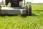 Mow Ground Level Touch Up — Stock Photo