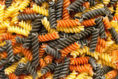 Multicolored Curly Pasta Endless — Stock Photo