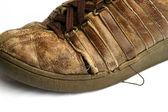 Shoe Worn — Stock Photo