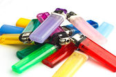 Lighters Pile — Stock Photo