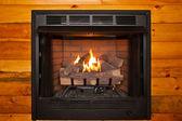 Fireplace Whole — Stock Photo