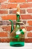 Jarro de vinho perto — Foto Stock