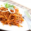 Delicious stir fried noodles Asistyle — Stock Photo #7131808