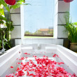 Spbath full of rose petal — Stock Photo #7132034