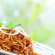 Delicious stir fried noodles — Stock Photo #7153709