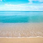 Beautiful sandy beach — Stock Photo #7243367